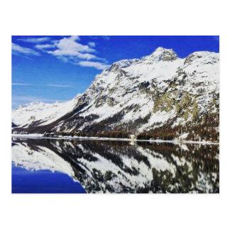 Schweizer Alpen-Postkarte Postkarte