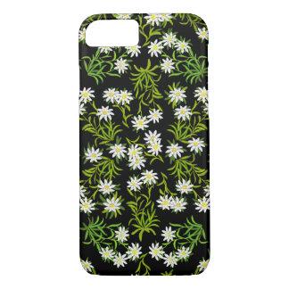 Schweizer Edelweiss alpiner Blumen iPhone 7 Fall iPhone 8/7 Hülle