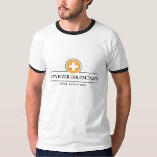 Schweizer Goldmünzen T - Shirt