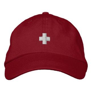 Schweizer Hut Bestickte Baseballmützen