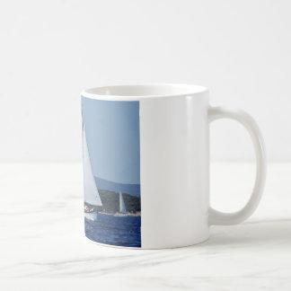 Schweizer Ketch in Korsika Kaffeetasse
