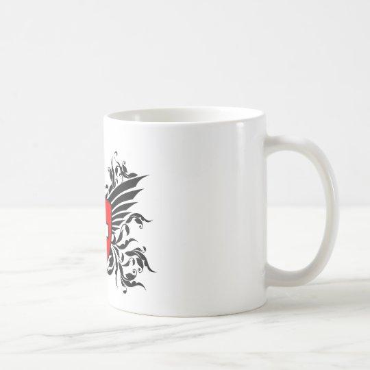 Schweizer Wappen mit Flügel Kaffeetasse