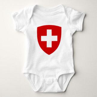 Schweizer Wappen - Schweizer Andenken Babybody