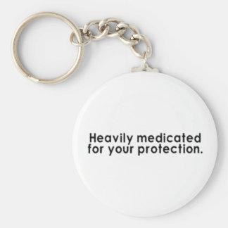 Schwer medizinisch behandelt für Ihren Schutz Schlüsselanhänger