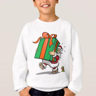 Schweres Geschenk vom Sankt-WeihnachtsSweatshirt Sweatshirt
