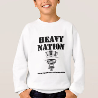 Schweres Nations-Material Sweatshirt