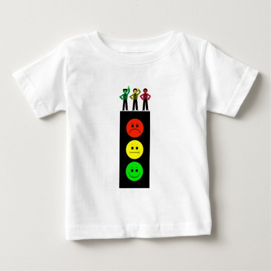 Schwermütiger Stoplight mit schwermütigem Baby T-shirt