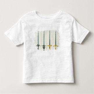 Schwerter, Platte von 'einer Geschichte der Kleinkinder T-shirt