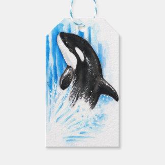 Schwertwal-Durchbrechen Geschenkanhänger