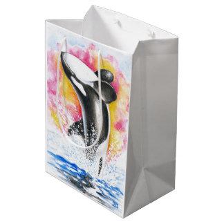 Schwertwal-Durchbrechen Mittlere Geschenktüte