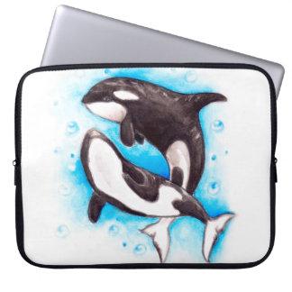 Schwertwalspiel Laptopschutzhülle