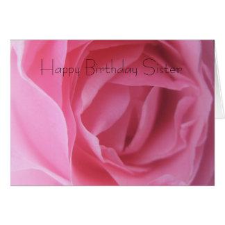 Schwester-Geburtstags-Grüße Karte