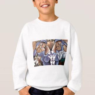Schwestern im Gedanken Sweatshirt