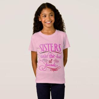 Schwestern machen das Beste von den Freunden T-Shirt