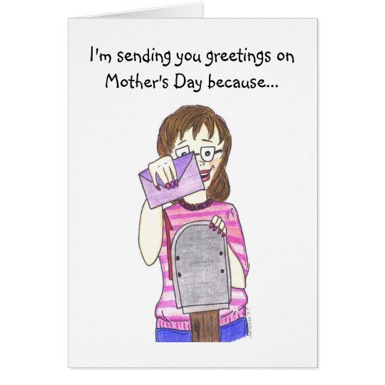 Schwiegermutter Grußkarte