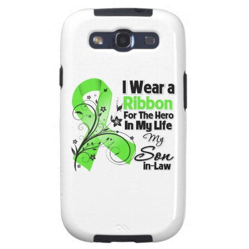 Schwiegersohn-Held in meinem Leben-Lymphom-Band Hülle Fürs Samsung Galaxy S3