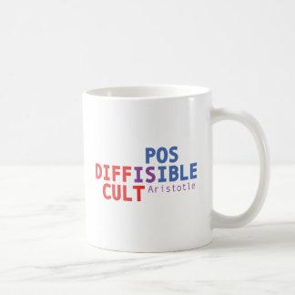 Schwierig ist - Aristoteles möglich Kaffeetasse