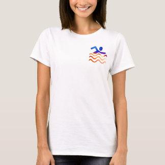 Schwimmen-Erfolg - cooler Verstand in heiße Zeiten T-Shirt