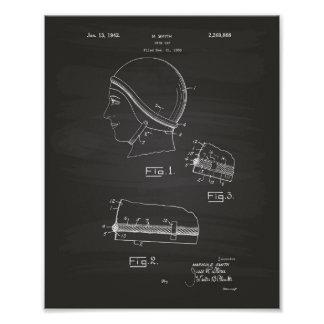 Schwimmen Gap 1942 patentiert Kunst-Tafel Poster