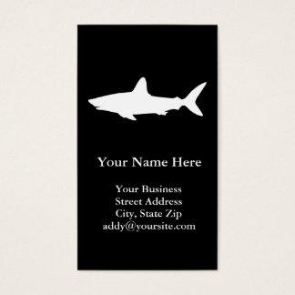 Schwimmen-Haifisch Visitenkarte