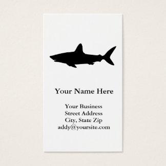 Schwimmen-Haifisch Visitenkarten