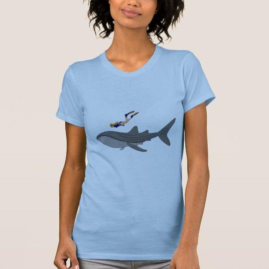 Schwimmen mit Whaleshark T-Shirt