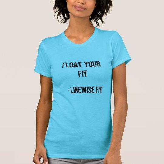 Schwimmen Sie das T-Stück Ihrer Sitz-Frauen - T-Shirt