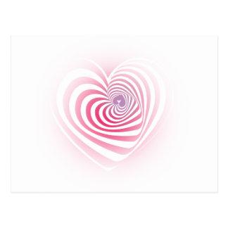 Schwindliges Herz Postkarte