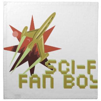 Sciencefiction-Fan Serviette