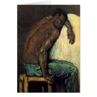 Scipio der Schwarze durch Paul Cezanne Karte