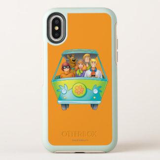 Scooby Doo Spritzpistolen-Pose 25 OtterBox Symmetry iPhone X Hülle