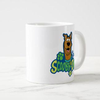 Scooby-Doo Tatzen-Druck-Charakter-Abzeichen Jumbo-Mug