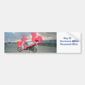 Scooter de mauvais goût de Key West Autocollant De Voiture