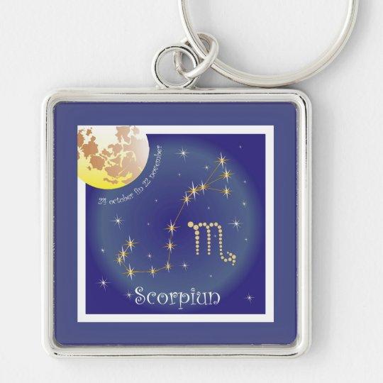 Scorpiun 24 october fin 22 november schlüsselanhänger