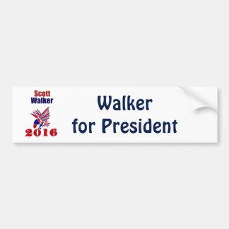 Scott-Wanderer für Präsidenten Political Art Autoaufkleber