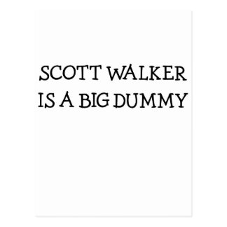 Scott-Wanderer ist eine große Attrappe Postkarten