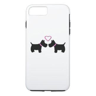 Scottie für die Liebe der schottischen Terrier iPhone 8 Plus/7 Plus Hülle