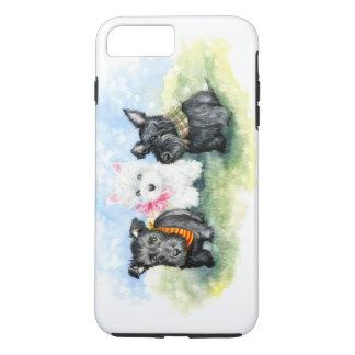 Scottie- und Westiewelpenmagie iPhone 8 Plus/7 Plus Hülle