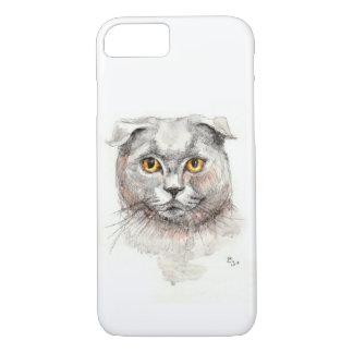 Scottish-Falten-Katze iPhone 8/7 Hülle