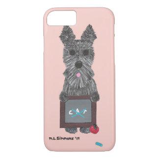 Scottish-Terrier-Telefon-Kasten des Lehrers das iPhone 8/7 Hülle