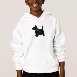 Scottish-Terrier-Weihnachtsspaßscottie-Hund Hoodie