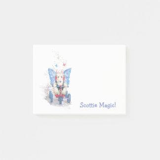 Scotty magische klebrige Anmerkungen Post-it Klebezettel