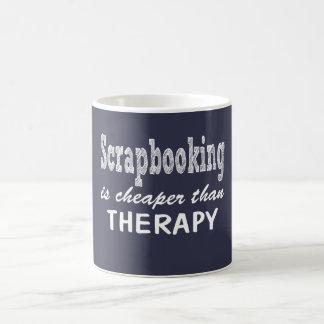 Scrapbooking Therapie Kaffeetasse