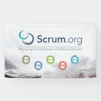 Scrum.org-Vinylfahne Banner