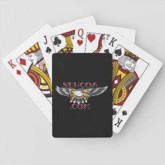 SDHCOA kardiert Logo 2,0 Spielkarten