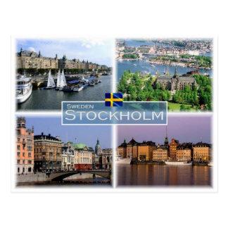 Se Schweden Stockholm - Postkarte