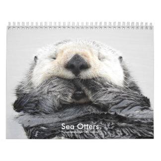 Sea Otter Channel Calendar #2 Abreißkalender