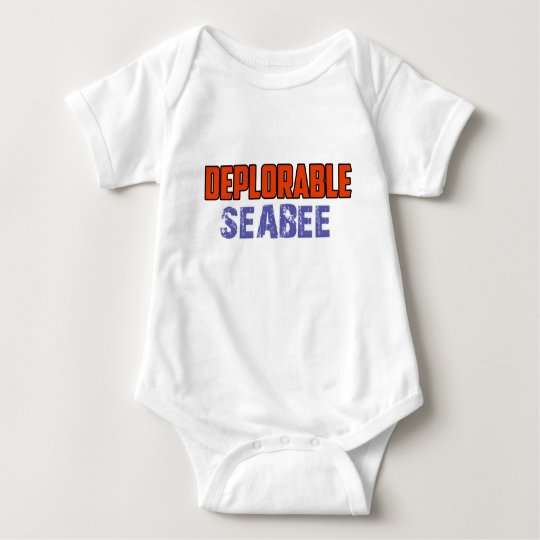 Seabeeentwurf Baby Strampler