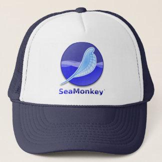 SeaMonkey Text-Logo Truckerkappe