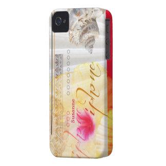 Seashell Flower iPhone Case